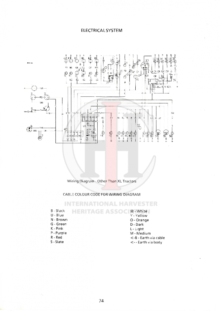 [SCHEMATICS_4US]  85 series L Wiring Diagram – International Harvester Heritage Association | Ih 585 Wiring Diagram |  | International Harvester Heritage Association